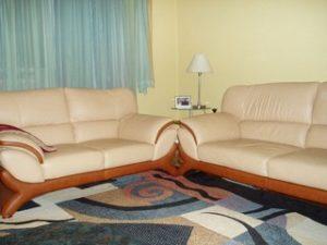 Перетяжка кожаной мебели в Костроме